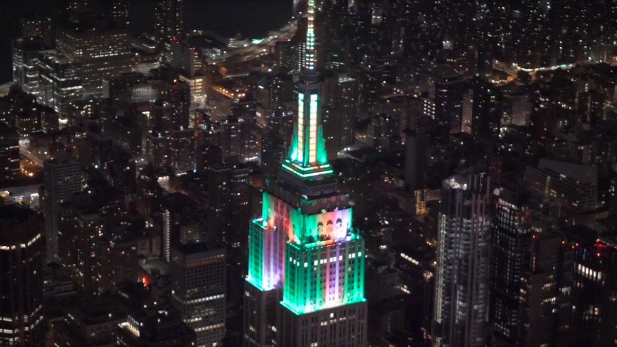 Empire State Building #HeroesShineBright